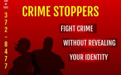 Student Crime Stoppers offers rewards and anonymous reporting.