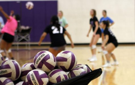 Volleyball team plays Amarillo High, prepares for district