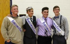 Goss named homecoming king