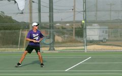 Tennis team plays in regional semi-finals