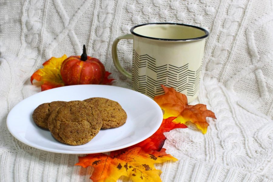 Pumpkin Chai cookies pair perfectly with fall weather and a cup of something warm.
