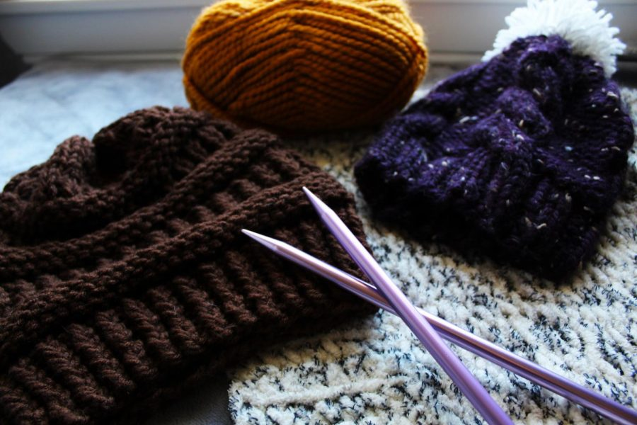 Hats, blankets and scarves make wonderful gifts to give to ones you love.