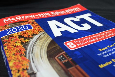 The ACT consists of 215 multiple-choice questions in varying school subjects.