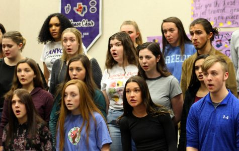 Feb. 3 is the last concert the choir will have before performing at TMEA Thursday, Feb.13.