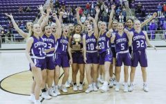 Girls basketball finishes season as regional quarterfinal champions