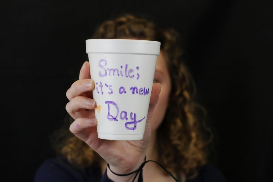 LEAD+Council+members+designed+cups+with+inspiring+messages%2C+jokes+and+advice+during+a+meeting+Thursday%2C+March+5.