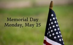 Memorial Day is observed each year on the last Monday of May.