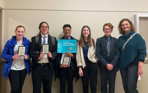 Qualifying debate students spent the past few months preparing for the week-long tournament.
