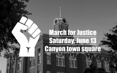 Canyon residents observe protest Saturday, June 13