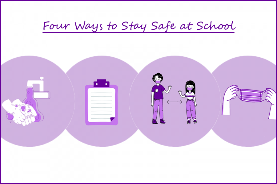 Four ways to stay safe at school