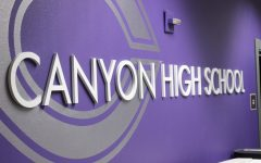 Before renovations started, a safety team from the district's Support Center evaluated Canyon High School. Assistant principal Mark McCulloch and Canyon High Resource Officer Daniel Roach moved into new offices as a part of the renovations, and attendance clerk Jennifer Douglass moved to the 2200 hallway.