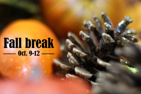 Fall break is from Friday, Oct. 9–Monday, Oct. 12. Students can venture out and enjoy school-related activities, take part in fall-related activities or stay indoors to relax and unwind.