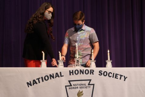 Canyon High School National Honor Society inducts 71 new members at ceremony Nov. 3. A video and photos will be available to family and friends to celebrate this accomplishment with their new inductee.