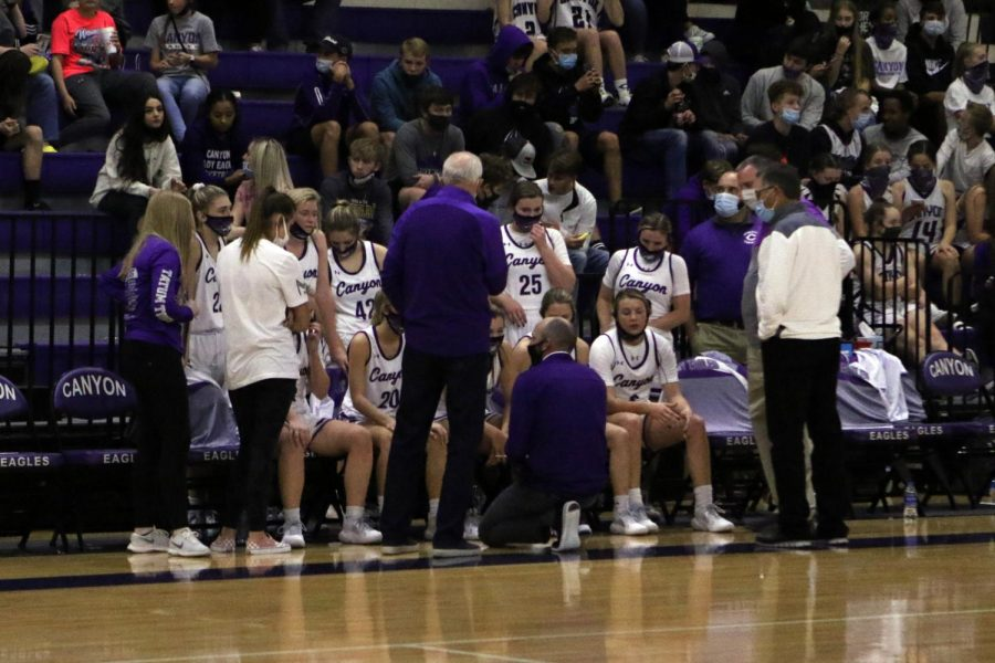 The Canyon Lady Eagles played the first game of the season against Frenship Tuesday, Nov. 10, winning 60-35. The team will play Randall Tuesday, Nov. 17 at the First United Bank Center.