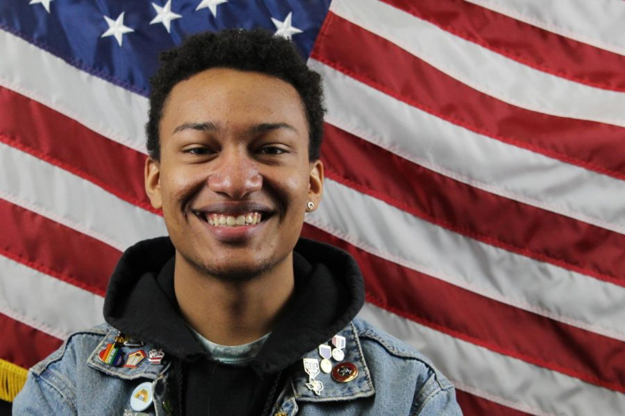 "Junior Bronson Kwaku said voting for former Vice President Joe Biden is voting for the lesser of two evils. ""He was one of the first people to make any domestic violence laws to help protect women or men who were battered by their significant-others,"