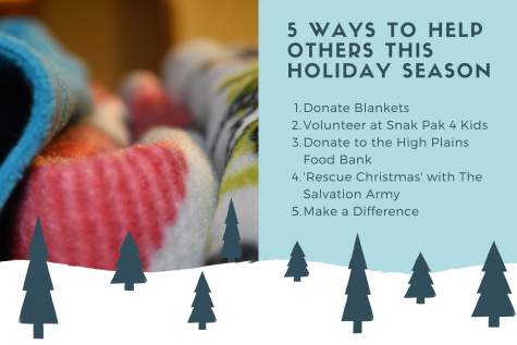 There are many ways to give back to others and the community during the holidays. With our list of five ways to do just that, students and staff can partake in both volunteering and donating to those in need during winter break.