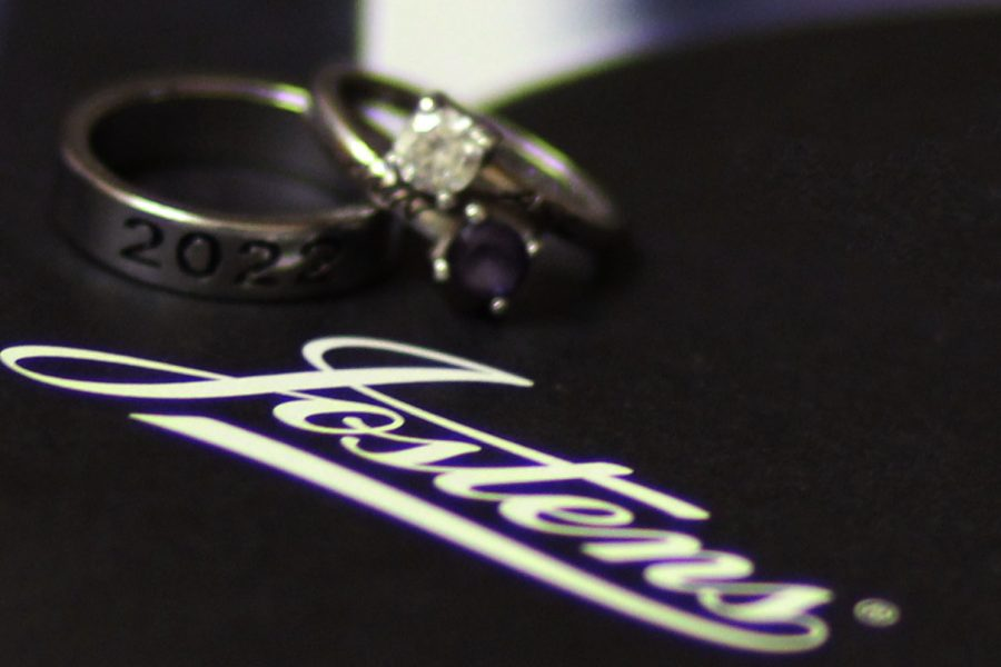 Juniors+will+receive+their+class+rings+at+the+annual+ring+ceremony+Monday%2C+Feb.+22+in+the+auditorium.+Provided+by+Jostens+for+the+last+seven+years%2C+representative+Todd+Morgan+said+the+event+is+an+important+part+of+getting+a+ring.+%E2%80%9CCrazy+is+the+new+norm%2C%E2%80%9D+Morgan+said.+%E2%80%9CThe+weather%2C+along+with+everything+else+that%E2%80%99s+been+going+on+for+the+past+11+months--you%E2%80%99re+adapting%2C+you%E2%80%99re+adjusting+and+trying+to+not+miss+out.+We%E2%80%99re+trying+not+to+let+the+kids+miss+out+on+big+things.%E2%80%9D