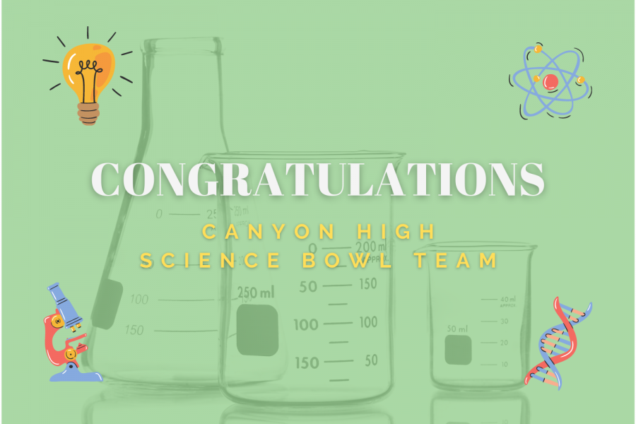 CANYON HIGH SCIENCE BOWL TEAM