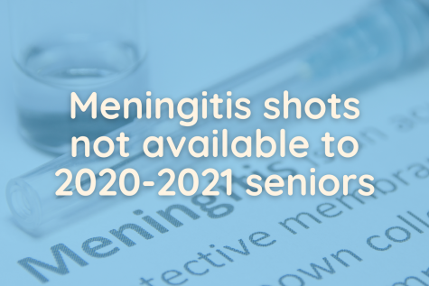 "Unlike previous years, the district will not offer meningitis shots to graduating seniors. In an email to students, college and career counselor Cory Gropp provided ways students can get the vaccine. ""The best way is to make an appointment with your doctor and have your doctor do that,"" Gropp said. ""Usually, if you go through Walgreens or CVS, this will cost you over $100. Colleges do have opt out forms, but each college has their own. Talk to your admissions counselor to locate that opt out form for your specific university or college."""