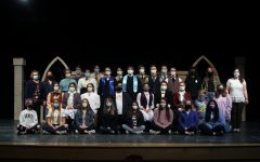"The One-Act cast and crew placed seventh at UIL Regionals Monday, April 12, with their show, ""Blue Stockings,"