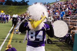 Mascot sports new jersey, same Eagle spirit