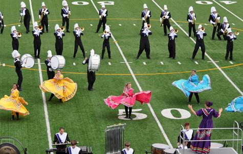 Band marches on to area with 'La Fiesta Mexicana'