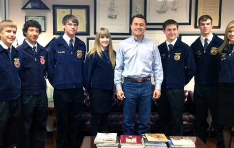 FFA places third at state