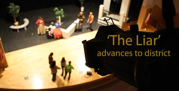 One-act play performs Monday, advances to district Tuesday