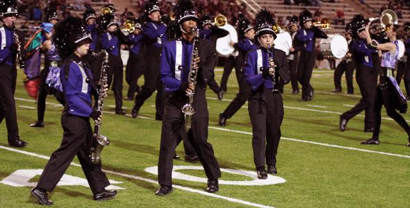 Marching band places second in festival, to compete in UIL Saturday