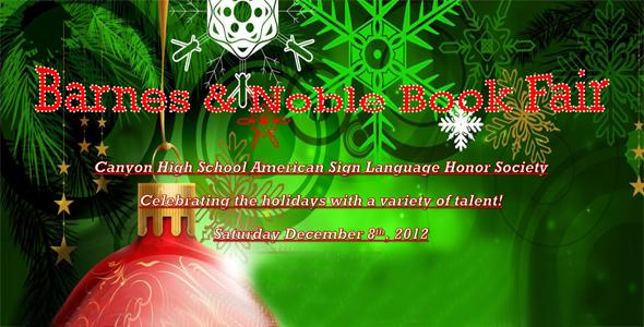 American Sign Language Honor Society to sign stories, host fair at Barnes and Noble