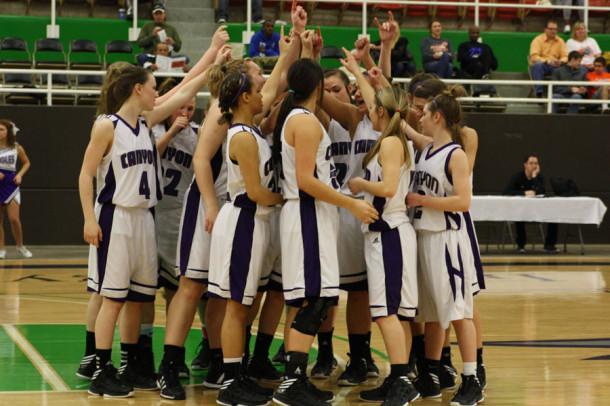 Girls end basketball season after regional semi-final loss