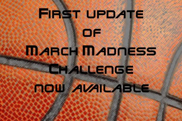 First update for March Madness Challenge available