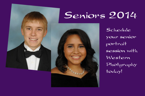Seniors must have 2014 yearbook portraits taken during summer