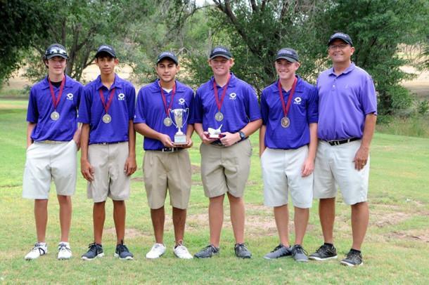 Boys golf wins Hereford tourney