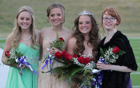 Land, Delao crowned homecoming royalty