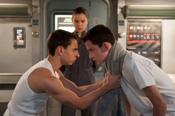 Moises Arias, form left, Hailee Steinfeld and Asa Butterfield star in