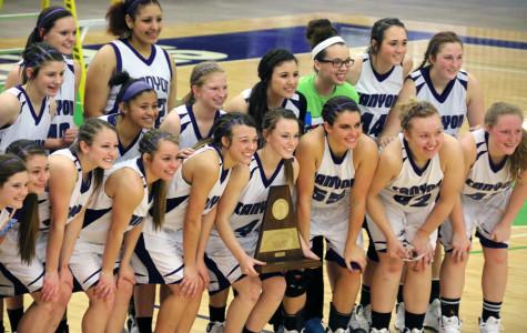 Lady Eagles head to state basketball tournament