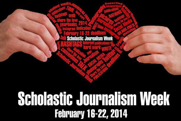 Newspaper, yearbook staffs celebrate Scholastic Journalism Week