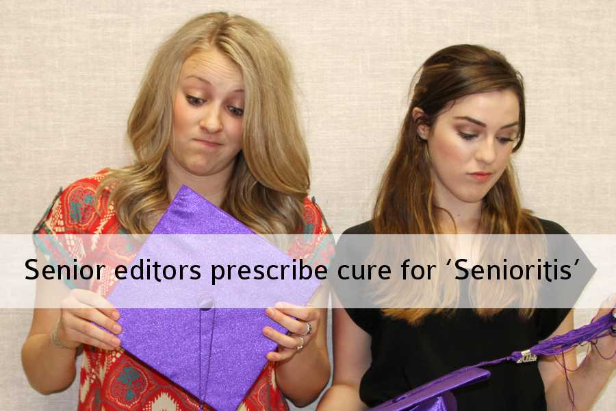 Seniors Kori Adair and Cortlyn Dees write an opinion about how to escape the disease of