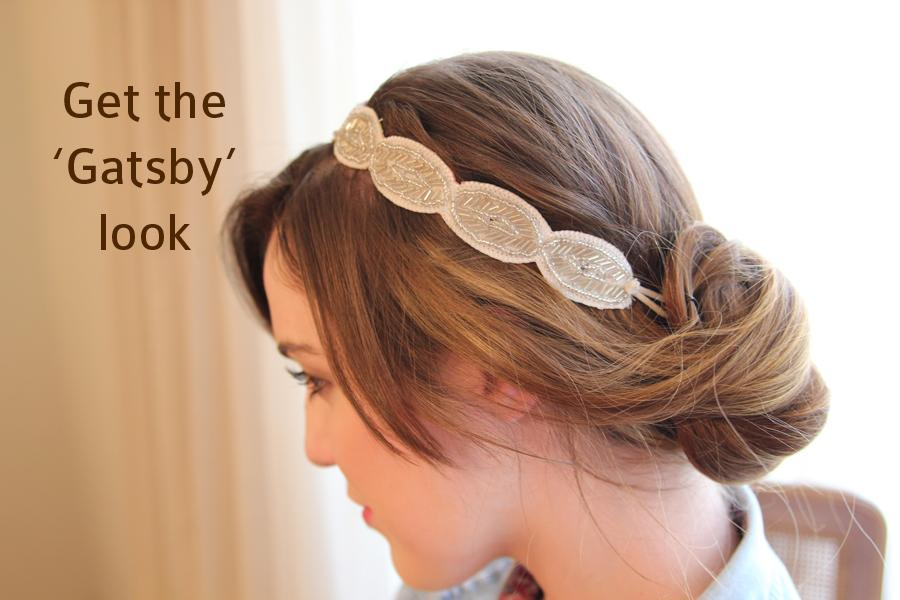 Senior Kori Adair styled her hair in a headband bun for a quick, simple and elegant updo.