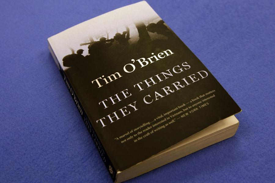 The Things They Carried by Tim OBrien won the approval of Ashley Vanderford as the only school-assigned book I have ever enjoyed reading.