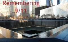 The 9/11 Memorial in March 2012.