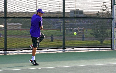 Varsity tennis team advances to area