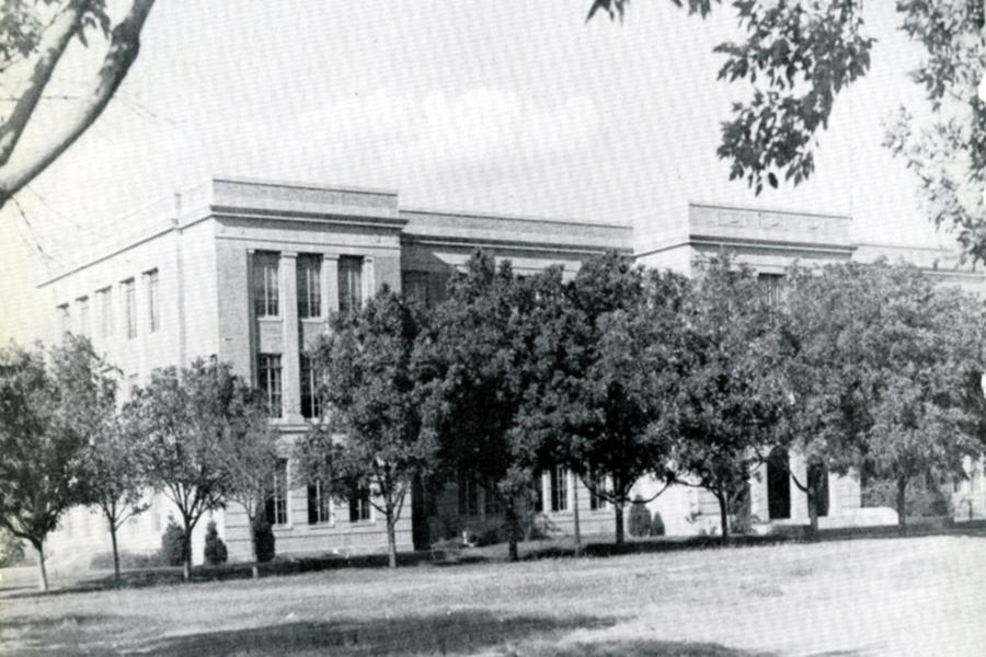 West Texas High School was located in the Education Building at West Texas A&M University, then called West Texas State Teachers College.