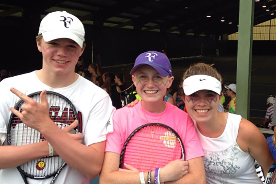 Tennis camp serves up surprises