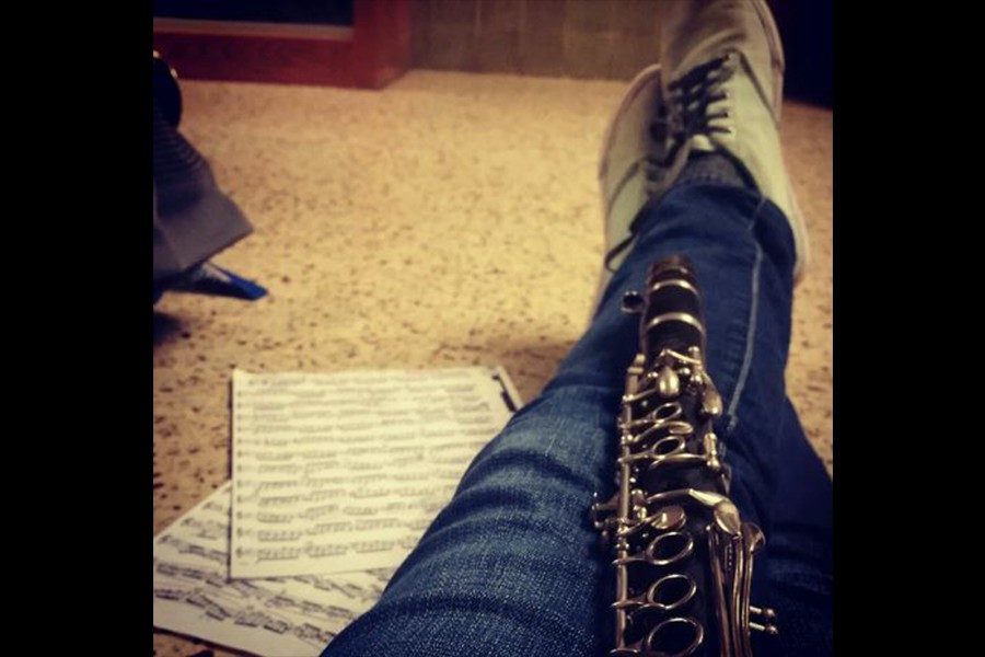 Senior qualifies for All-State band, first from CHS in 6 years