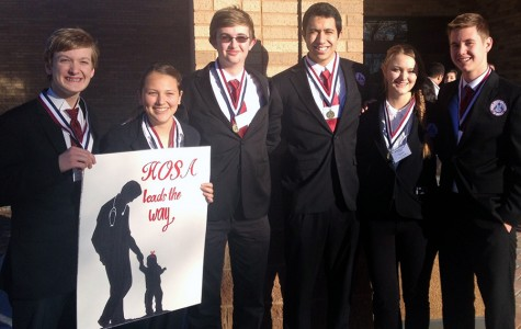 Health Occupations advances eight to state