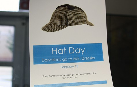 Friday's hat day to benefit science teacher