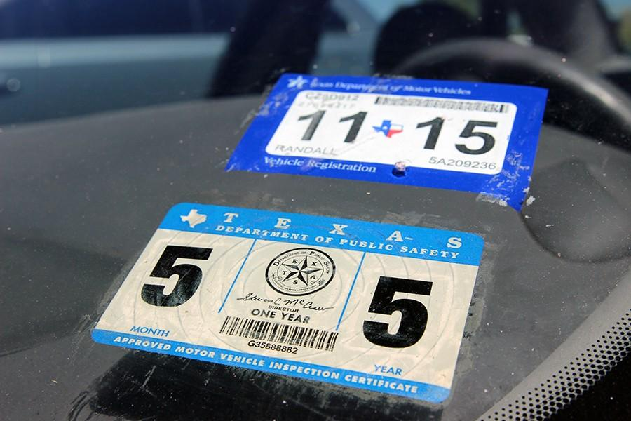 Inspection and registration stickers are now combined in