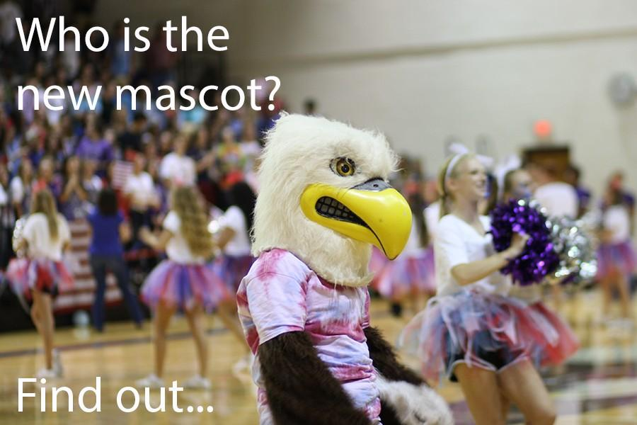 Many students have represented Canyon High as the Rocky the Eagle mascot through the years.